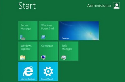 beta di Windows Server 8