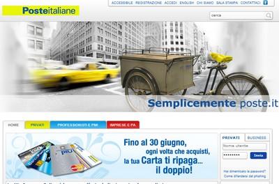 Poste Italiane: problemi ai server, utenti nel caos