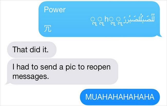SMS in arabo fa crashare gli iPhone - foto appleinsider.com