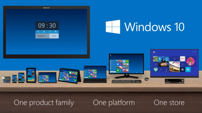Windows 10: download gratis prenotabile
