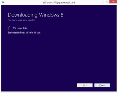 Windows 8 Pro: upgrade possibile