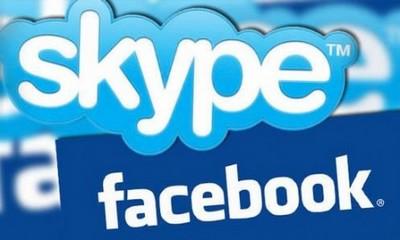 La chat di Facebook integra Skype