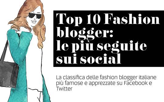 Classifica Fashion Blogger