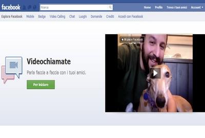 Facebook videochiamata