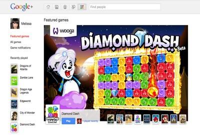 Giochi su Google+