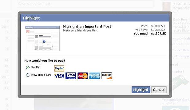 Facebook Highlight