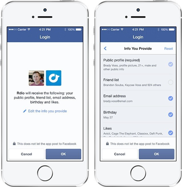 Facebook e login anonimo, ora è possibile