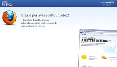 Firefox 4 in download