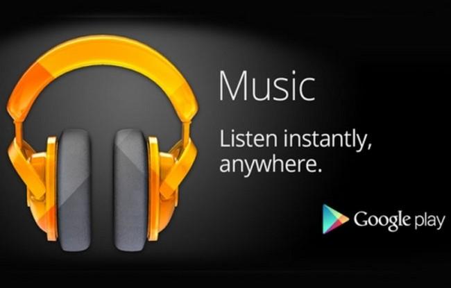Streaming gratis su Google Play Music