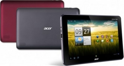 Acer Iconia Tab A200 nei due colori disponibili