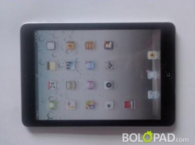 iPad Mini, la foto pubblicata da Bolopad.com