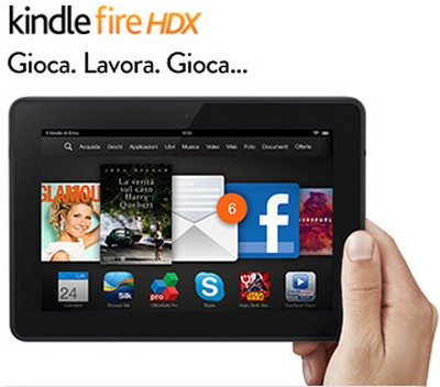 Kindle Fire HDX 7 pollici