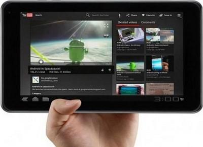 LG Optimus Pad, tablet 3D