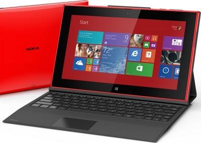 Nokia Lumia 2520 con power keyboard