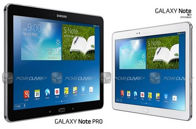 Samsung Galaxy Note Pro 12,2 ©Moveplayer