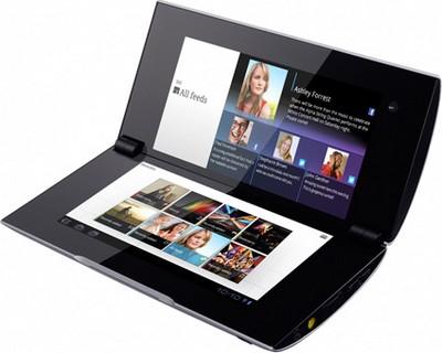 Sony P tablet con doppio schermo tattile