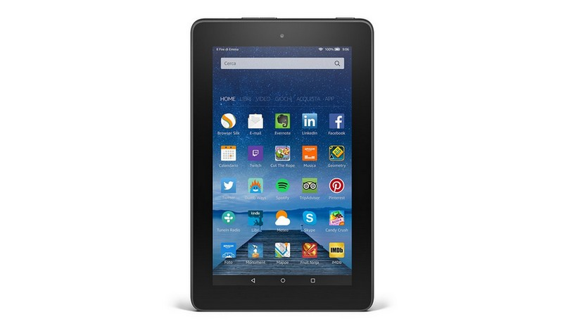 Nuovo Fire, tablet low cost di Amazon