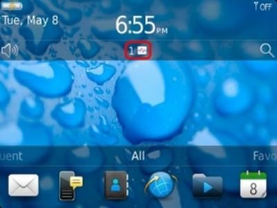 BlackBerry, Application Resource Monitor: schermata