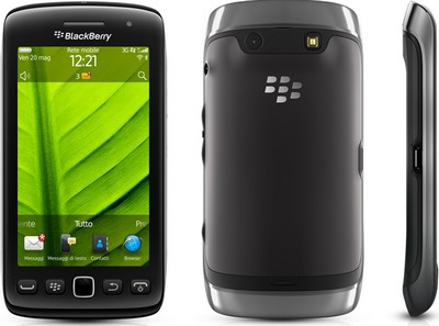 BlackBerry Torch 9860, visuale complessiva
