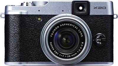 Fujifilm X20 in nero e argento