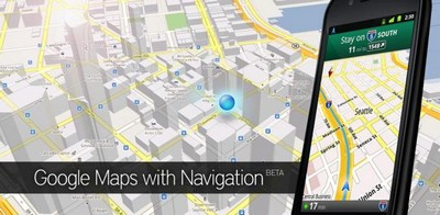 Google Maps 5.7 per Android, mappe per Android offline
