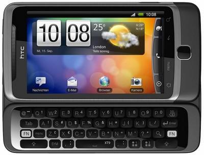 HTC Desire e Gingerbread: download dell'aggiornamento a luglio