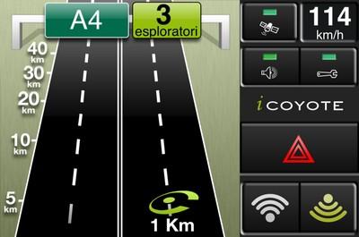App Autovelox iCoyote