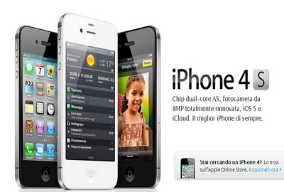 iPhone 4S, novità Apple