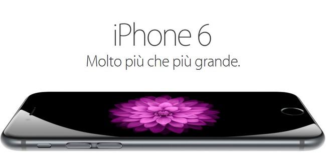 iPhone 6: prezzi in Italia ufficializzati