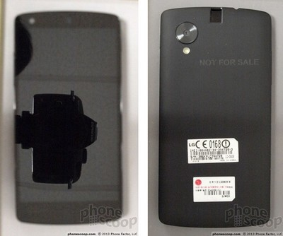 LG Nexus 5, il prototipo - foto phonescoop
