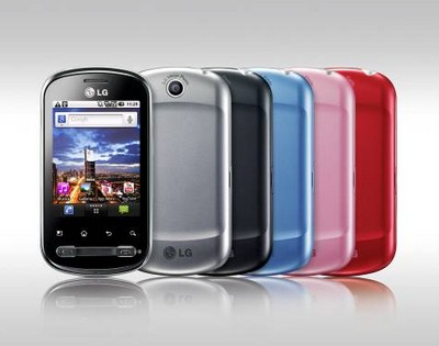 LG Optimus Life, colori disponibili
