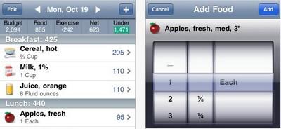 Dimagrire con iPhone: Lose it, app gratis