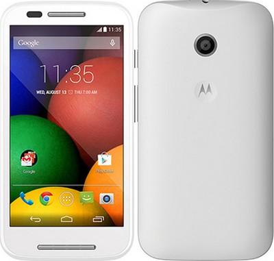 Motorola Moto E nella colorazione white