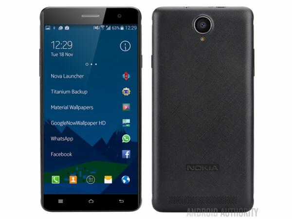 Nokia A1, le prime immagini