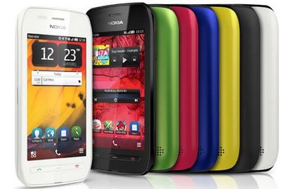 Nokia 603 in tutti i colori disponibili