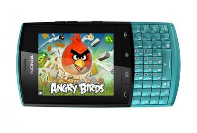 Nokia Asha 303 con Angry Birds