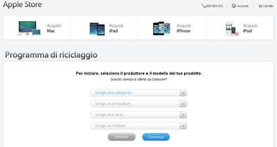 Permuta iPhone Apple: accettati device entrati in contatto con acqua