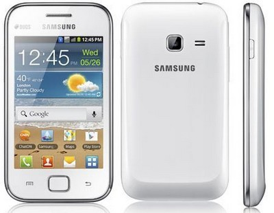 Samsung Galaxy Ace Duos, smartphone dual sim