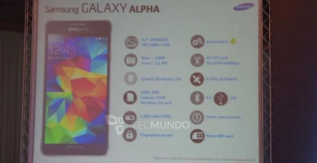 Samsung Galaxy Alpha ©foto TecMundo