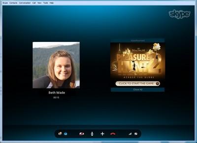 Skype Conversation Ads: pubblicità nelle conversazioni
