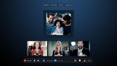 Skype: in futuro videochiamate 3D