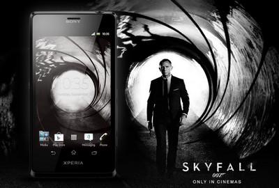 Sony Xperia T versione James Bond