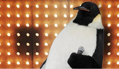 Pino il pinguino, testimonial di Vodafone Unlimited