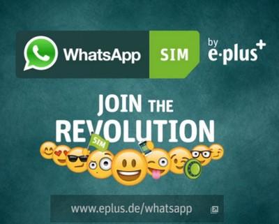 WhatsApp SIM card