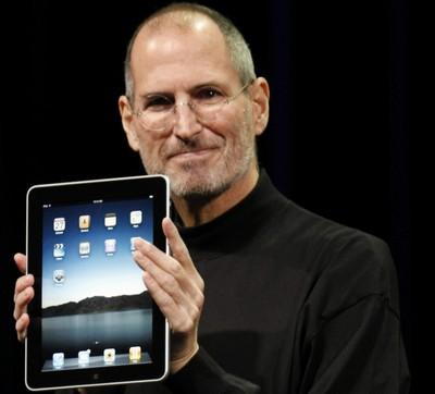 Steve Jobs presenta l'iPad