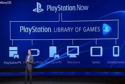 PlayStation Now, presentazione al CES 2014