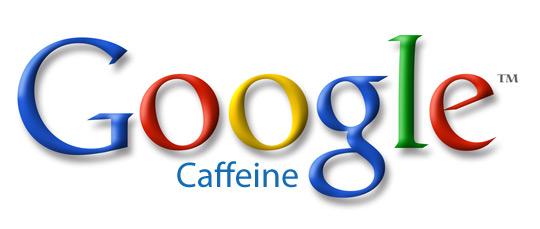 Logo di Google Caffeine