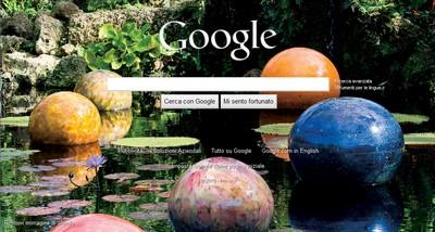 Esempio di sfondo Google