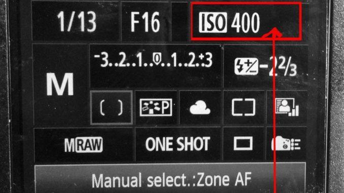 ISO corso di fotografia