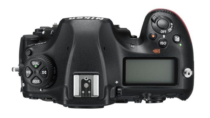 Nikon D850 top